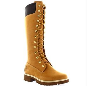 Timberland Premium 14in Waterproof Lace-Up Boots